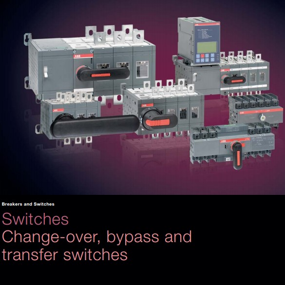 Changeover, Bypass & Transfer Switches