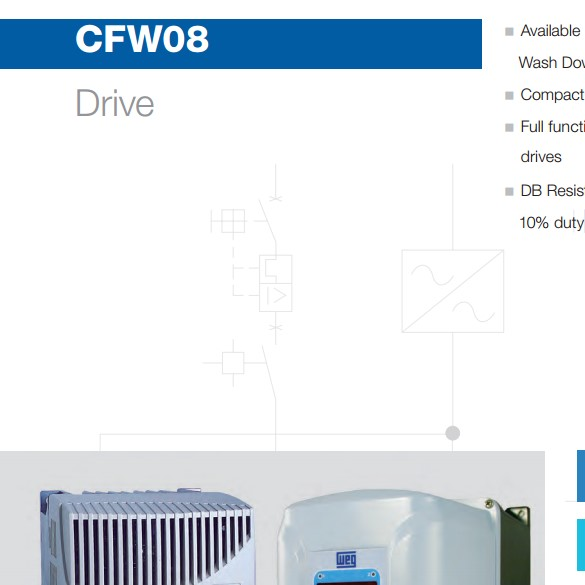 CFW08 Variable Frequency Drive