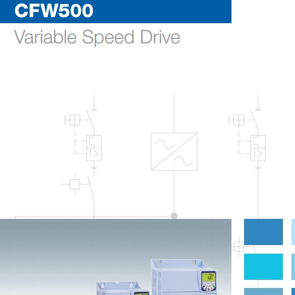 CFW500 Variable Speed Machinery Drive