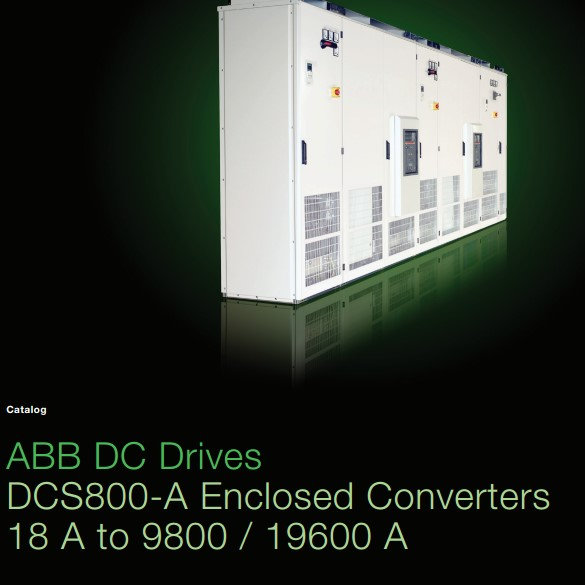 ABB Series DCS800-A Cabinet Built Industrial DC Drives