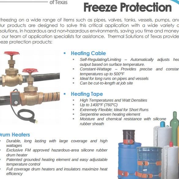 Freeze Protection