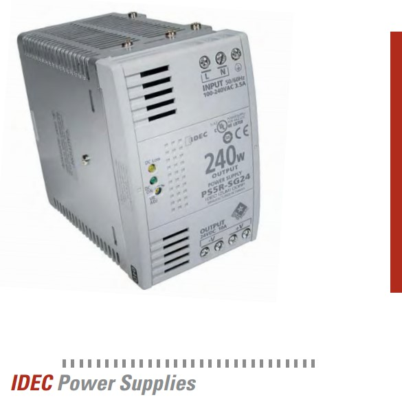 IDEC Family of Power Supplies