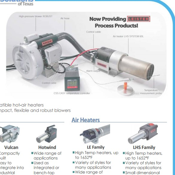 Leister Heaters