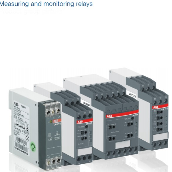 Measuring and monitoring relays