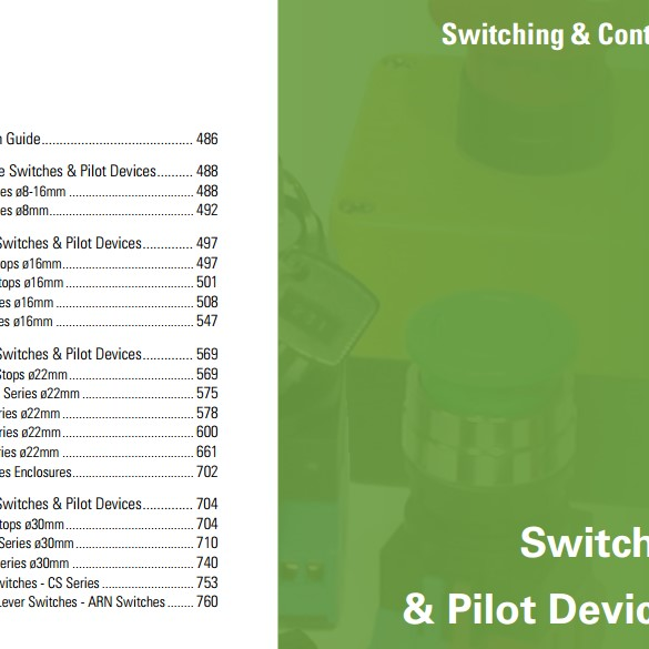 Switches & Pilot Devices